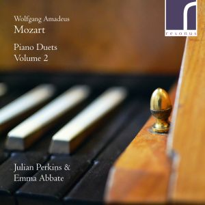 W. A. Mozart: Keyboard duets, volume 2